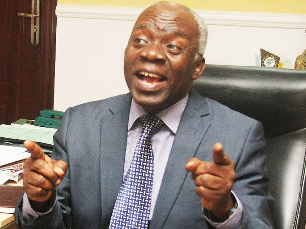 Falana barks at Corrupt politicians, says they are fueling religious intolerance