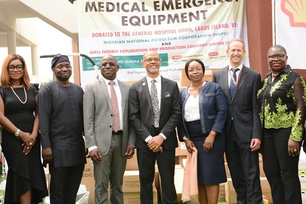 PHOTOSTORY: Sanwo-Olu inaugurates NNPC/SNEPCo multi-million naira medical equipment at Lagos General Hospital