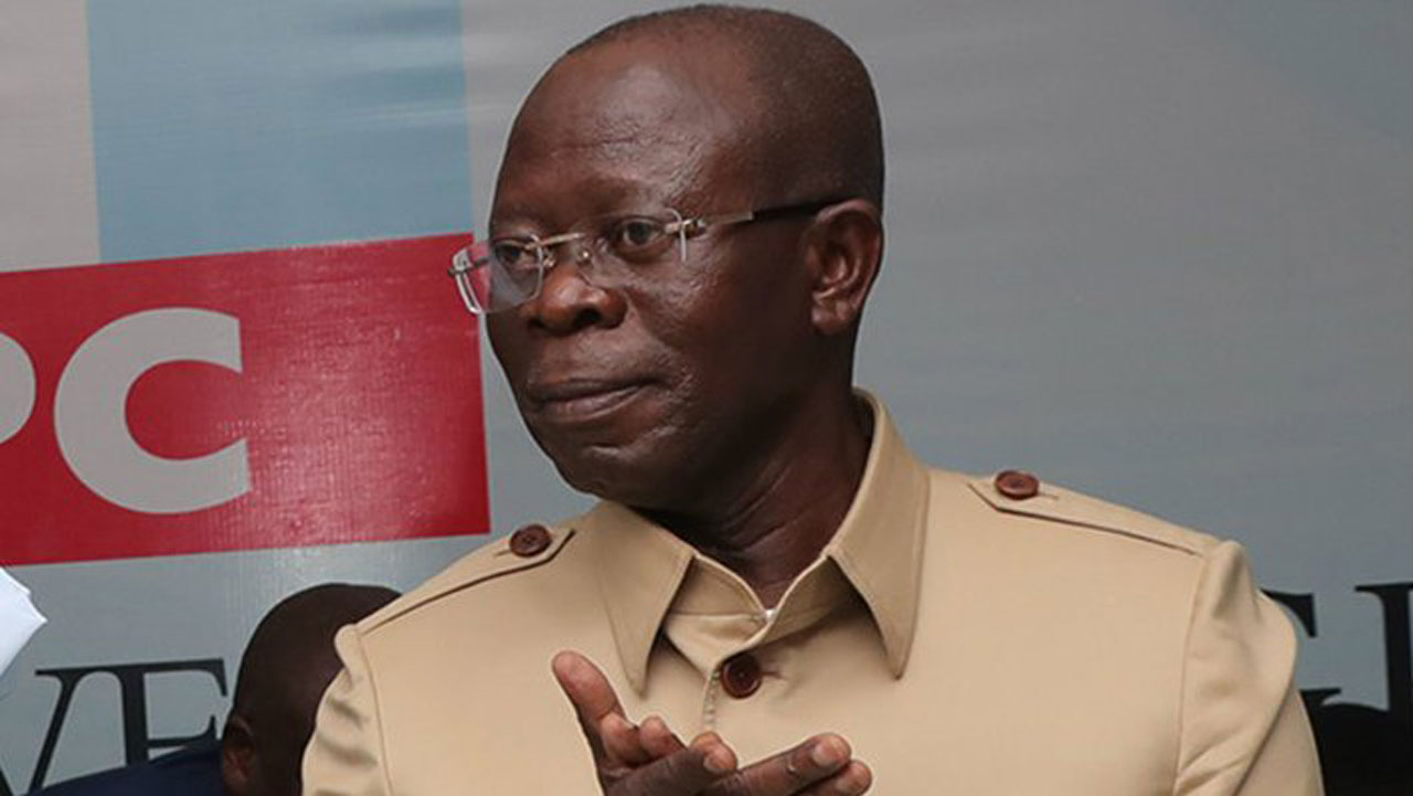 Oshiomhole writes Letter to INEC, demands fresh election in Bayelsa