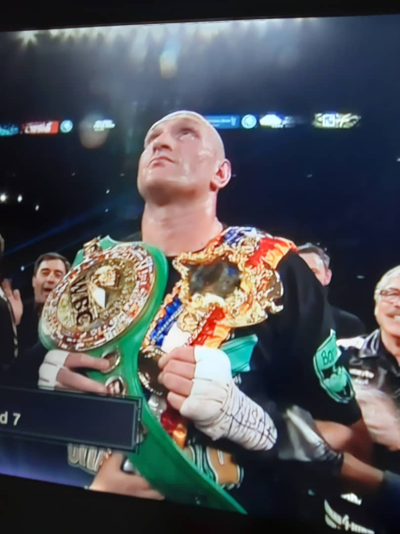 Fury Drops Wilder Twice, Stops Him in Round 7